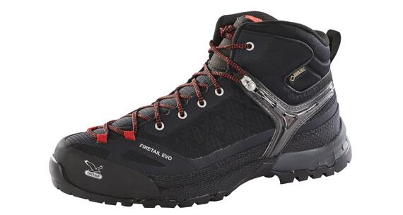 Salewa Firetail EVO Mid GTX - Chaussures - noir
